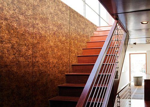 Wandplatte selbstklebend Leder Dekor WallFace 17271 VINTAGE Wandpaneel Luxus Vintage Look Design kupfer braun | 2,60 qm – Bild 2