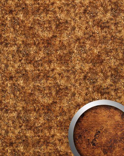 Wandplatte selbstklebend Leder Dekor WallFace 17271 VINTAGE Wandpaneel Luxus Vintage Look Design kupfer braun | 2,60 qm – Bild 1