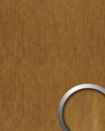 Wandplatte Wandverkleidung selbstklebend WallFace 17848 OXY TERRA Wandpaneel Leder Stahlblech Look rost-braun | 2,60 qm – Bild 1