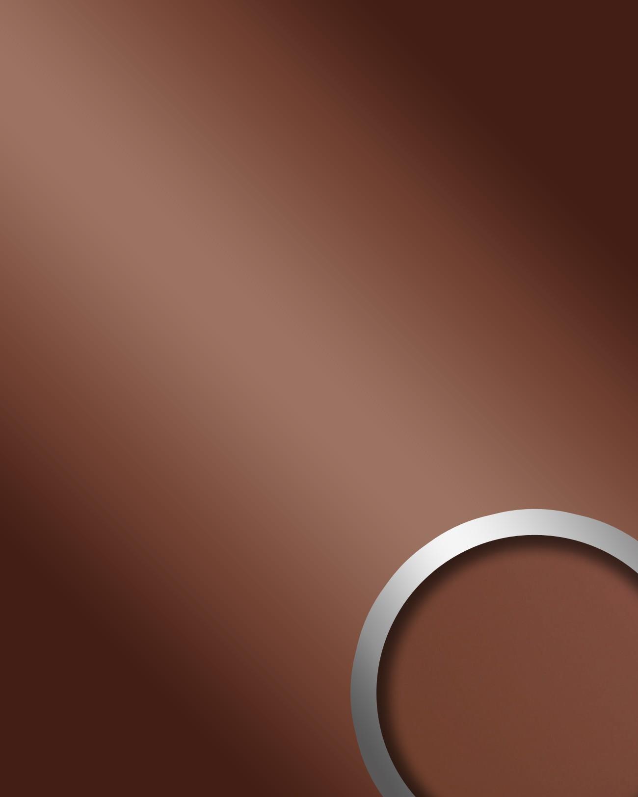 Wandpaneel spiegel decor glans optiek wallface 15275 deco bronze zelfklevend paneel slijvast - Spiegeldecoratie ...