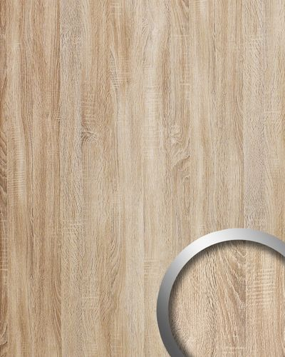 Panel decorativo autoadhesivo de lujo WallFace 17279 DECO OAK TREE Decoración de madera beige 2,60 m2 – Imagen 1