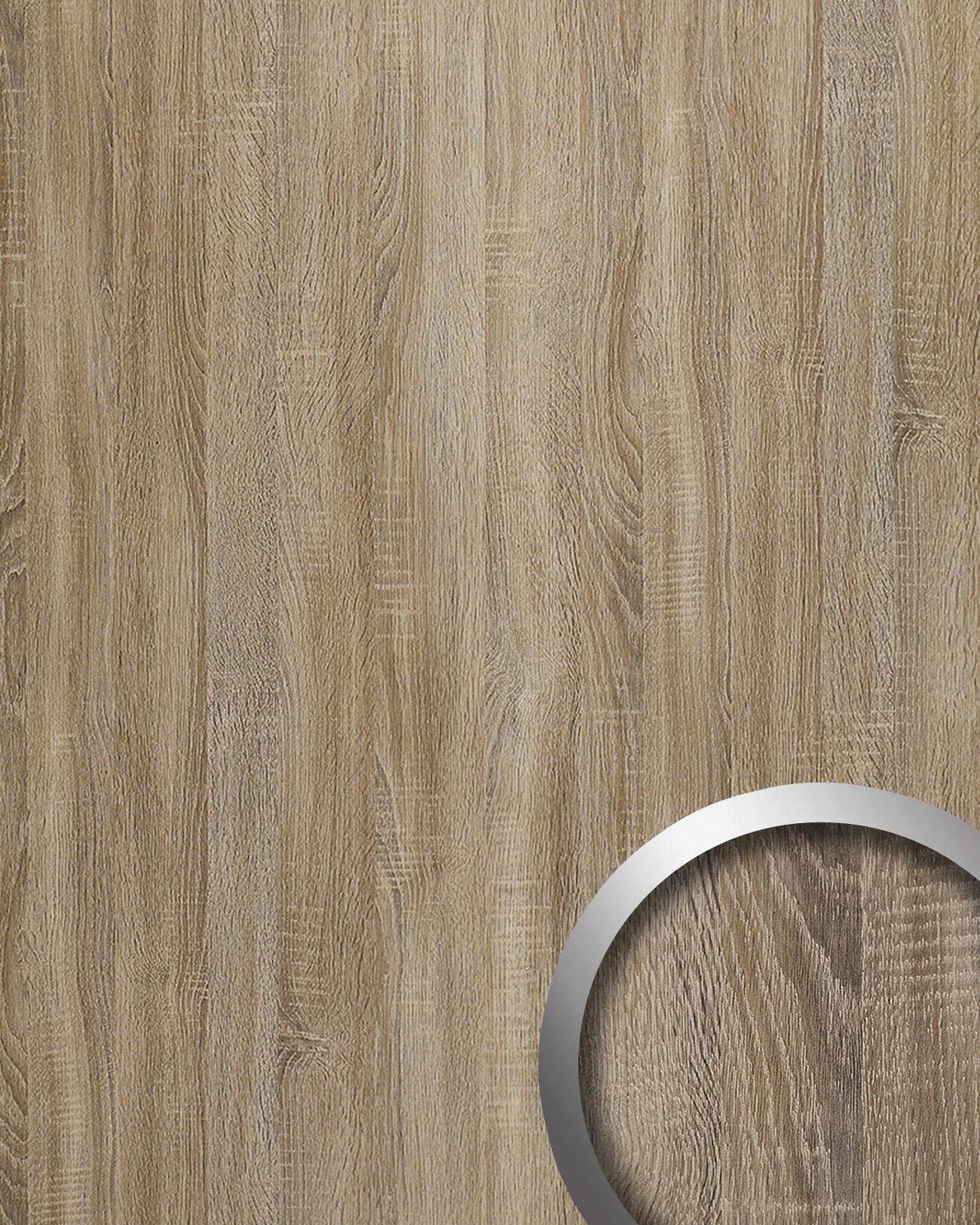 Pannello murale ottica legno tattilità legno wallface 17281 deco ...