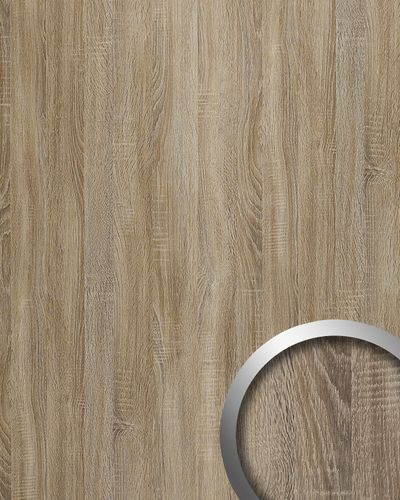 Panel decorativo autoadhesivo de lujo WallFace 17281 DECO OAK TREE Decoración de madera gris 2,60 m2 – Imagen 1