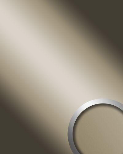 Wandpaneel 12430 DECO CHAMPAGNE Spiegel Glanz-Optik Champagner – Bild 1