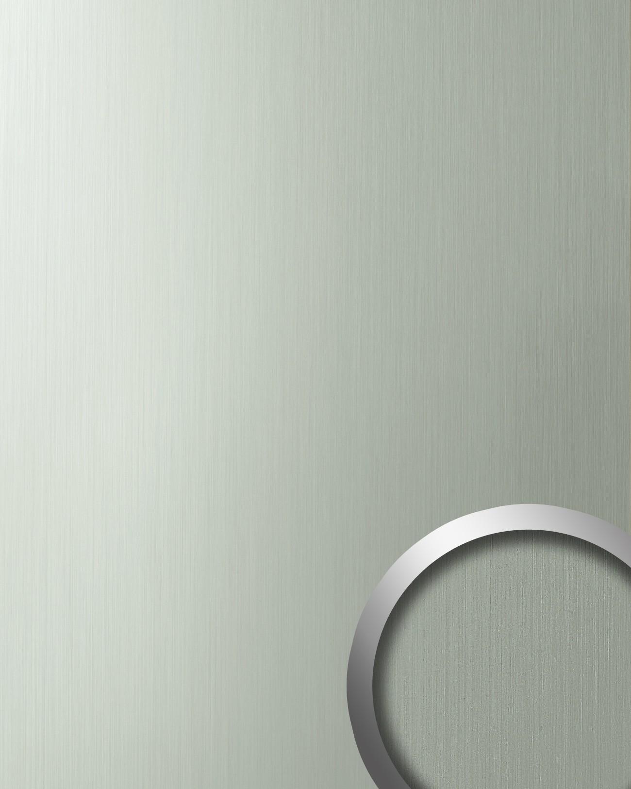 Wandbekleding zelfklevend roestvrij staal wallface 10199 deco hgs look inox staal grijs - Wandbekleding keuken roestvrij staal ...