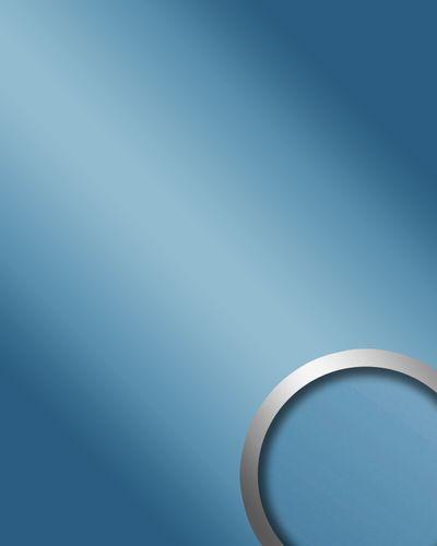 Glanz-Optik Wandverkleidung WallFace 10210 DECO ICEBLUE Wandpaneel Spiegel Design Platte selbstklebend blau | 2,60 qm – Bild 1