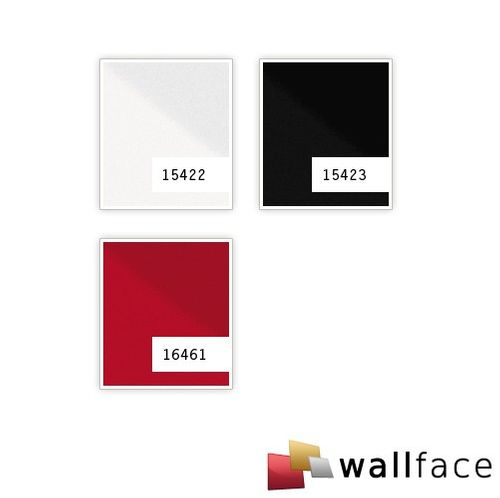 Wall Panel self-adhesive design Panel resistant to abrasion WallFace 16461 DECO MAGIC slightly glossy sexy red 2,6 sqm – Bild 2