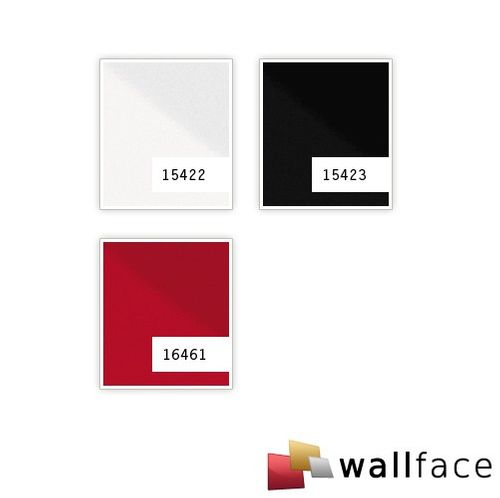 Panel decorativo autoadhesivo resistente a la abrasión WallFace 15422 DECO MAGIC Ligeramente brillante blanco 2,60 m2 – Imagen 2