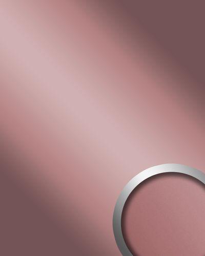 Pannello murale Design specchio WallFace 12428 DECO ROSE lucido resistente all'abrasione autoadesivo lilla 2,60 mq – Bild 1