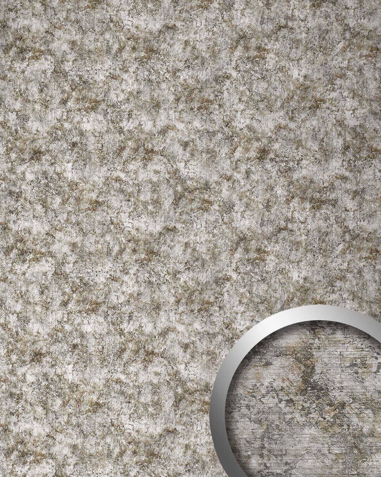 Vintage Wandverkleidung: Wandverkleidung 17275 DECO VINTAGE Metall-Rost-Optik Grau