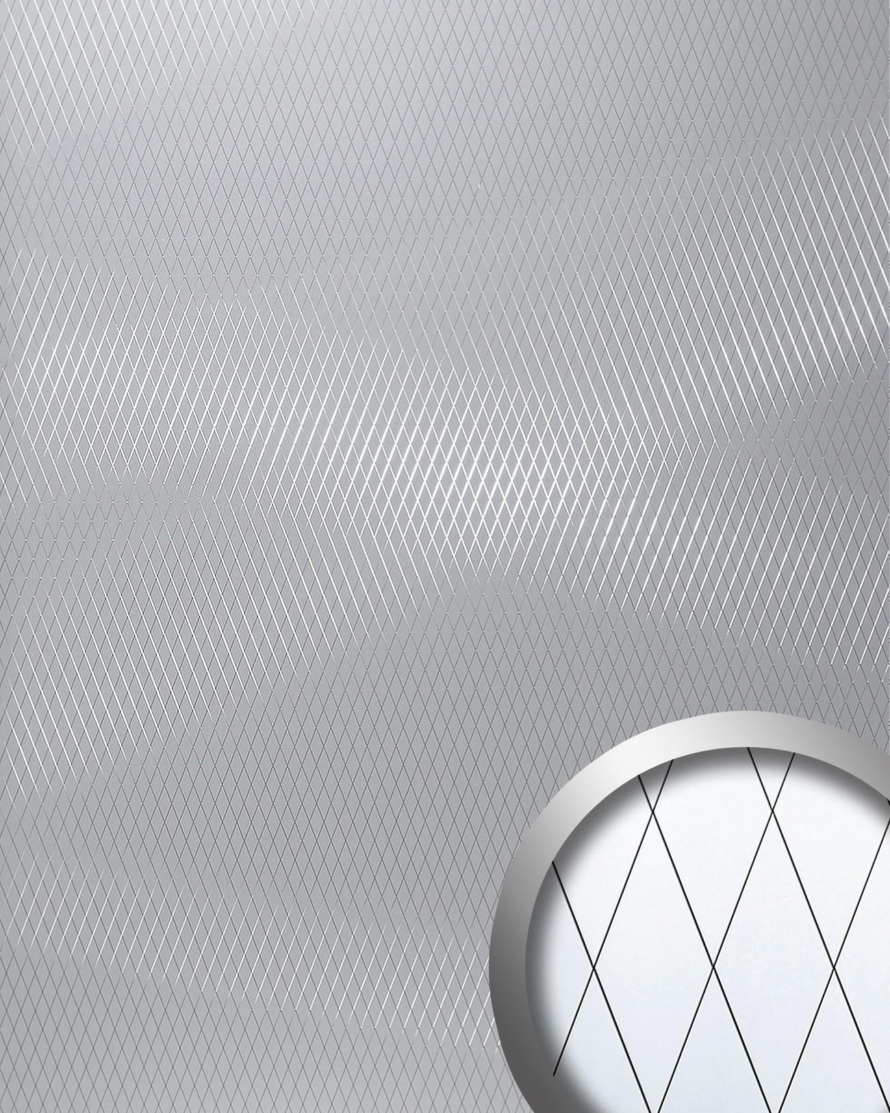 Panel decorativo revestimiento mural autoadhesivo espejo - Revestimiento pared autoadhesivo ...