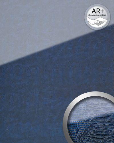 Wandverkleidung Glas Optik 16984 LEGUAN dunkel blau – Bild 1