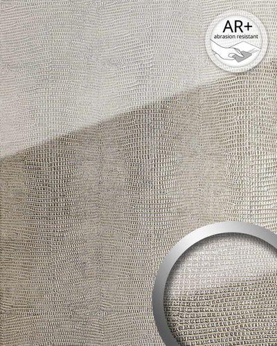 Wandpaneel Glas Optik 16979 LEGUAN silber grau – Bild 2