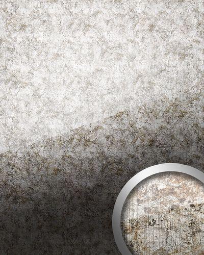 Wandpaneel Glas Optik 17199 VINTAGE silber grau – Bild 1
