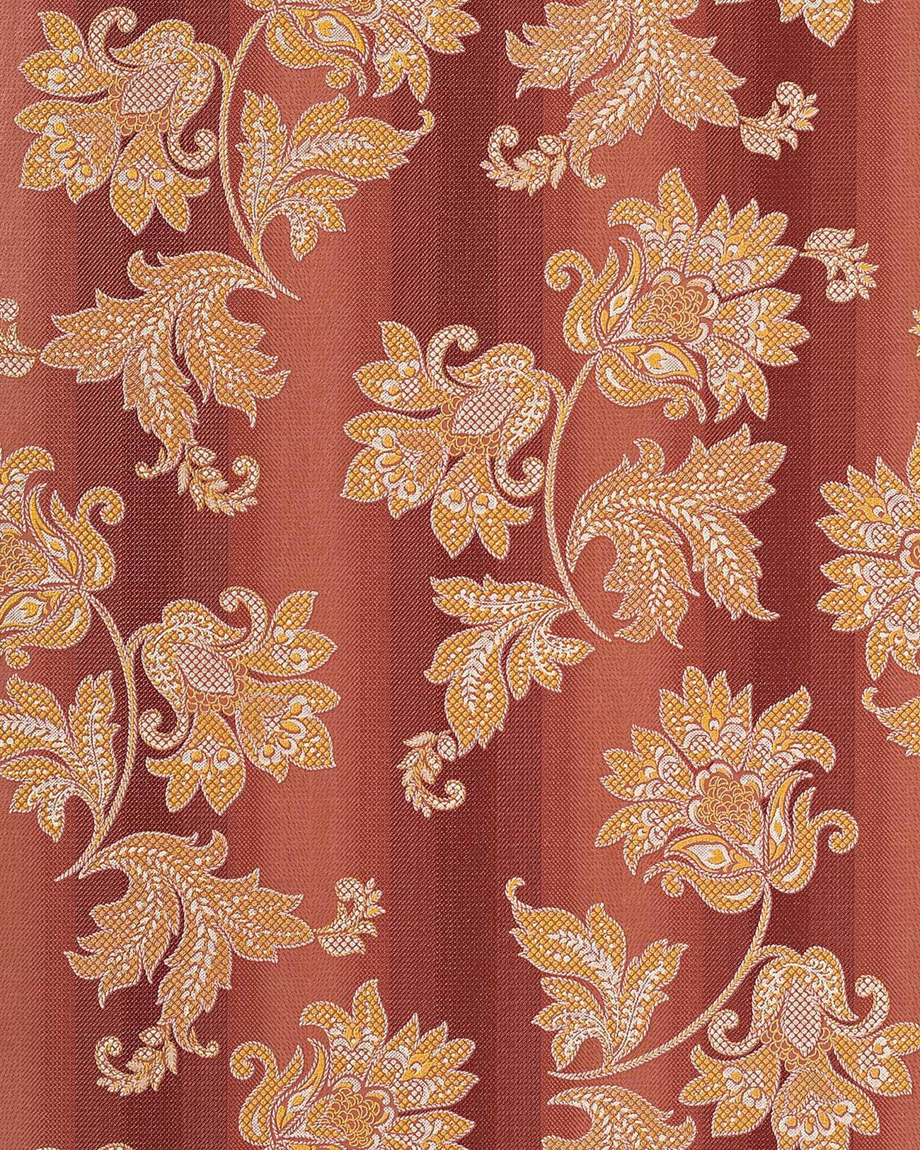 Carta da parati vinilica barocco floreale EDEM 084-24 rosso chiaro ...