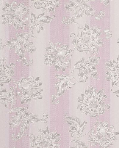Baroque wallpaper wall floral flowers EDEM 084-26 wall covering vinyl purple lilac white silver  – Bild 1