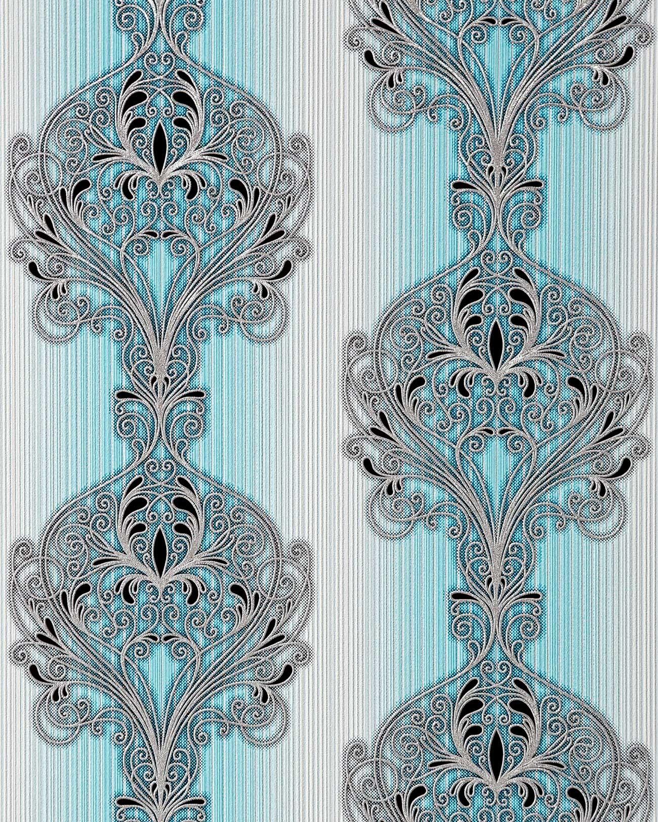 Super 3D Barok behang vinyl behang EDEM 096-22 damast ornamenten modern  #EQ81
