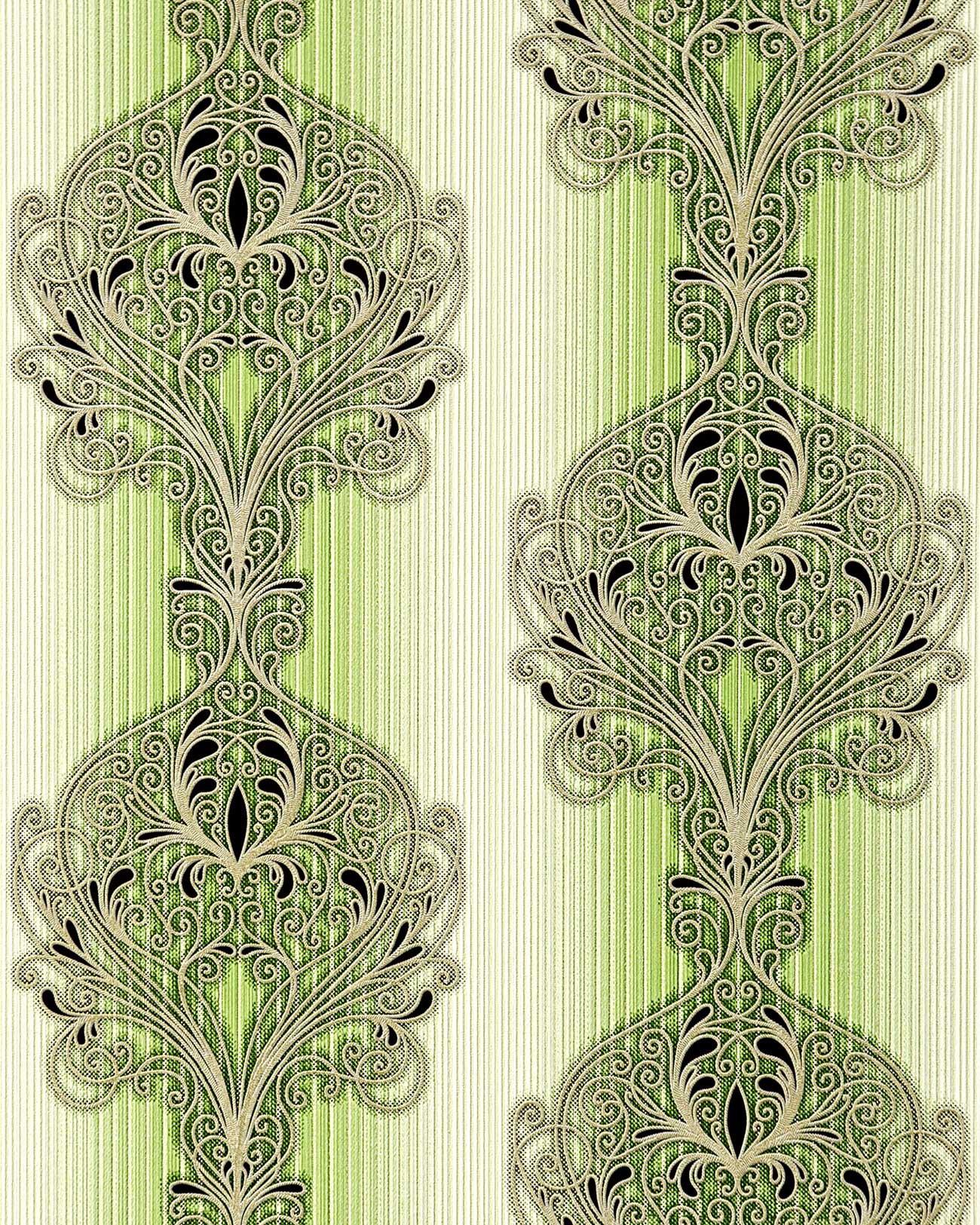 Papier Peint Baroque Damasse Ornement Moderne Et Orne Edem 096 25