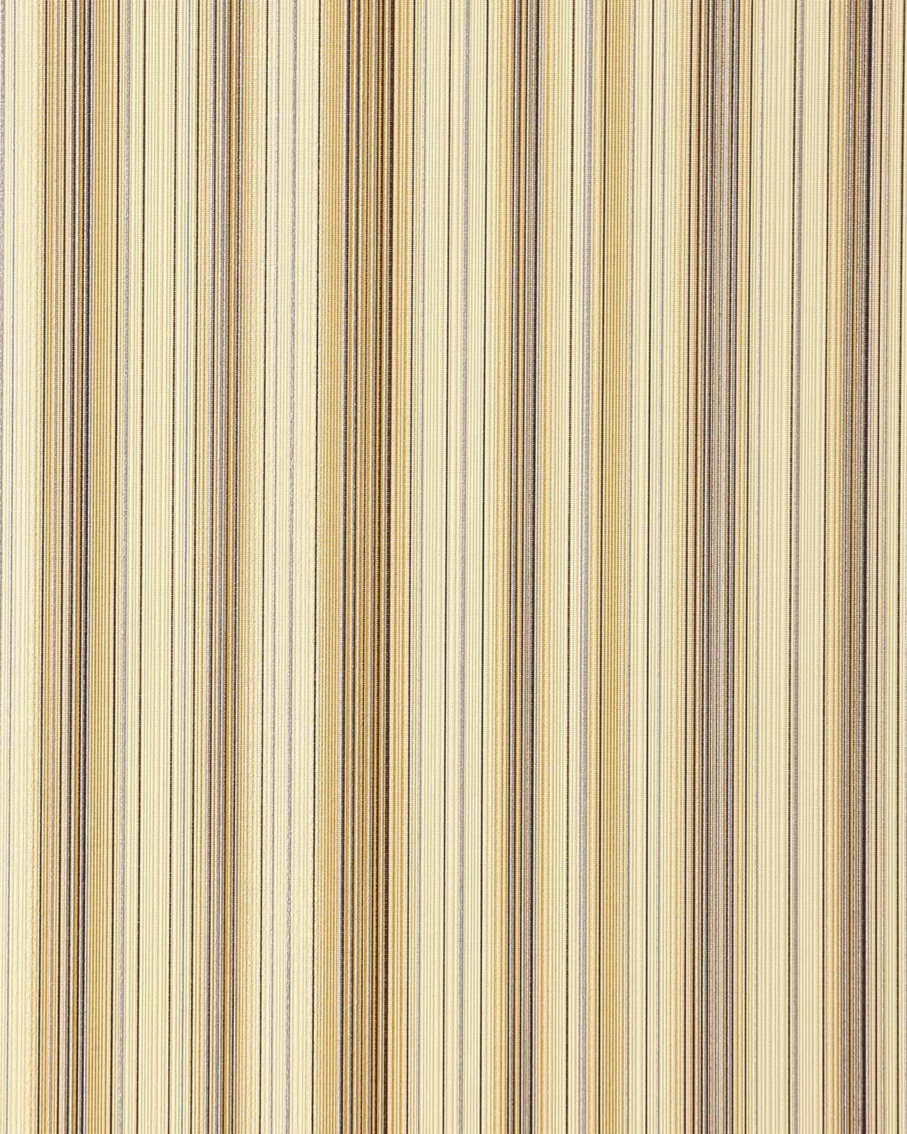 Wallcovering Vinyl Stripes Wallpaper Wall EDEM 097 21 Sumptuous Modern And Noble Brown Beige Old Rose Silver
