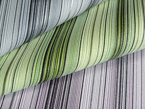 Wallcovering vinyl stripes wallpaper wall EDEM 097-24 sumptuous stripes modern and noble lilac white silver black  – Bild 2