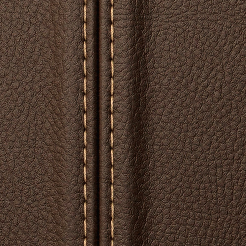1 MUSTERSTÜCK S-13503-SA WallFace DARK BROWN ZN Leather Collection | Dekorpaneel MUSTER in ca. DIN A4 Größe – Bild 3