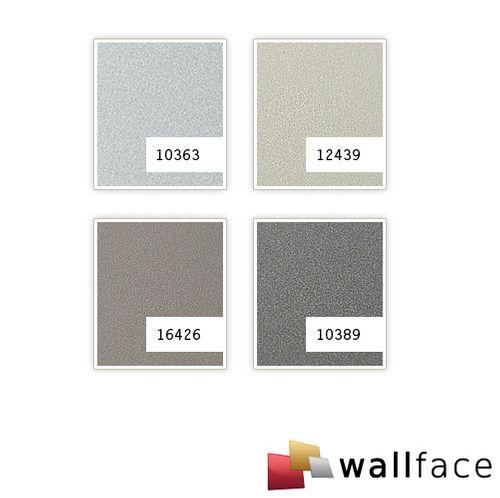 1 MUSTERSTÜCK S-12439 WallFace CHAMPAGNE MET Deco Collection | Wandpaneel MUSTER in ca. DIN A4 Größe – Bild 4