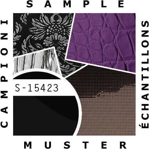 1 MUSTERSTÜCK S-15423-SA WallFace MAGIC BLACK AR Deco Collection | Wandpaneel MUSTER in ca. DIN A4 Größe – Bild 2