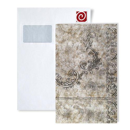 1 PIEZA DE MUESTRA S-17225-SA WallFace MYSTIQUE VINTAGE SILVER Structure Collection | Muestra panel decorativo en tamaño aprox DIN A4 – Imagen 1