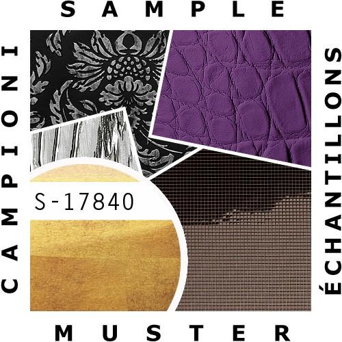 1 MUSTERSTÜCK S-17840-SA-AR WallFace LUXURY GOLD AR+ S-Glass Collection | Wandverkleidung MUSTER in ca. DIN A4 Größe – Bild 2