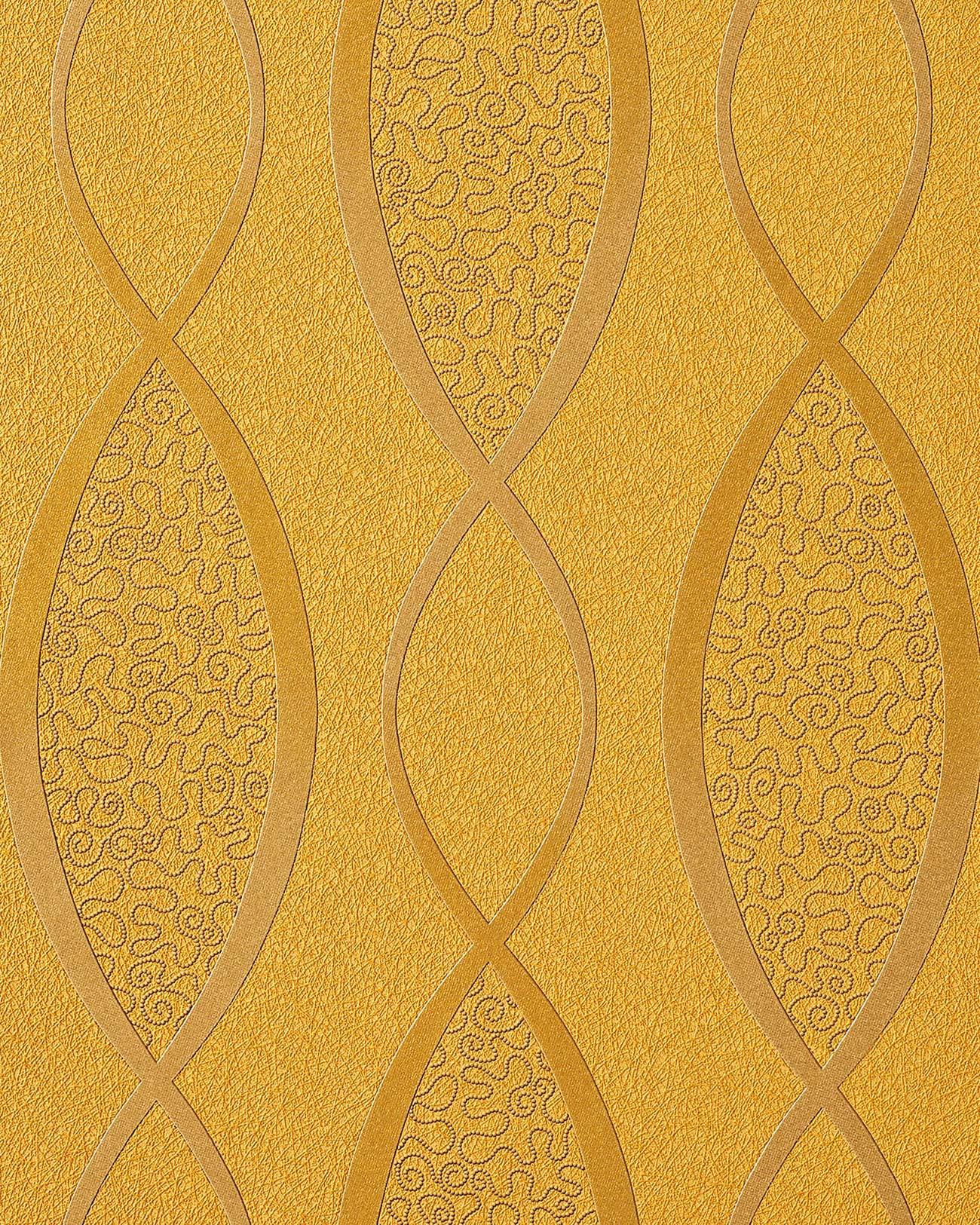 70s style textured vinyl wallcovering wallpaper fashion stripes curved lines retro edem 1018 11. Black Bedroom Furniture Sets. Home Design Ideas