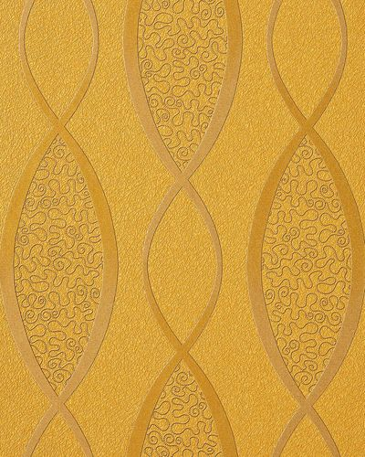 Grafik tapete edem 1016 11 zebra streifen tapete struktur for Tapete gelb muster