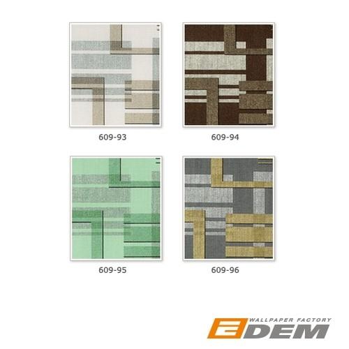 Carta da parati XXL tessuto non tessuto EDEM 609-93 con disegno geometrico astratto beige marrone argento crema 10,65m2 – Bild 6