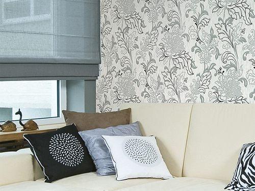 XXL Papier peint intissé EDEM 604-95 motif de style floral feuilles vert vert clair or | 10,65 m2 – Bild 4