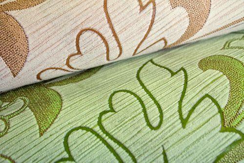 Carta da parati XXL tessuto non tessuto goffrata EDEM 604-95 floreale con fiori e foglie verde verde chiaro 10,65 m2 – Bild 2
