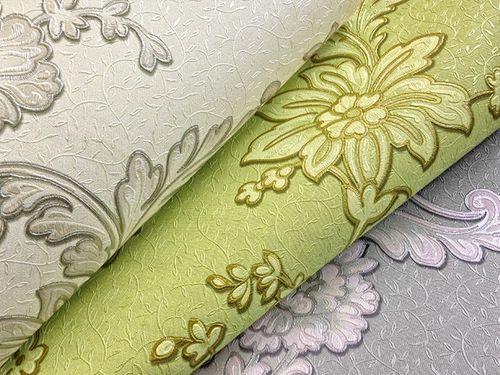 Blumen Vliestapete EDEM 919-37 Blumentapete XXL Luxus Hochwertige 3D Präge-Struktur Floral grau silber rosa 10,65 qm – Bild 2