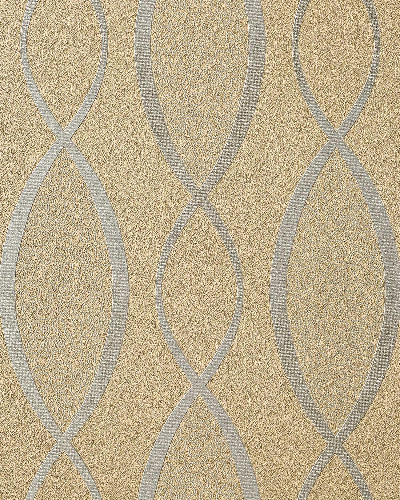papel pintado anos 60 papel pintado retro edem 1018 13 estilo a os 70 l neas onduladas ornamentos glitter decente