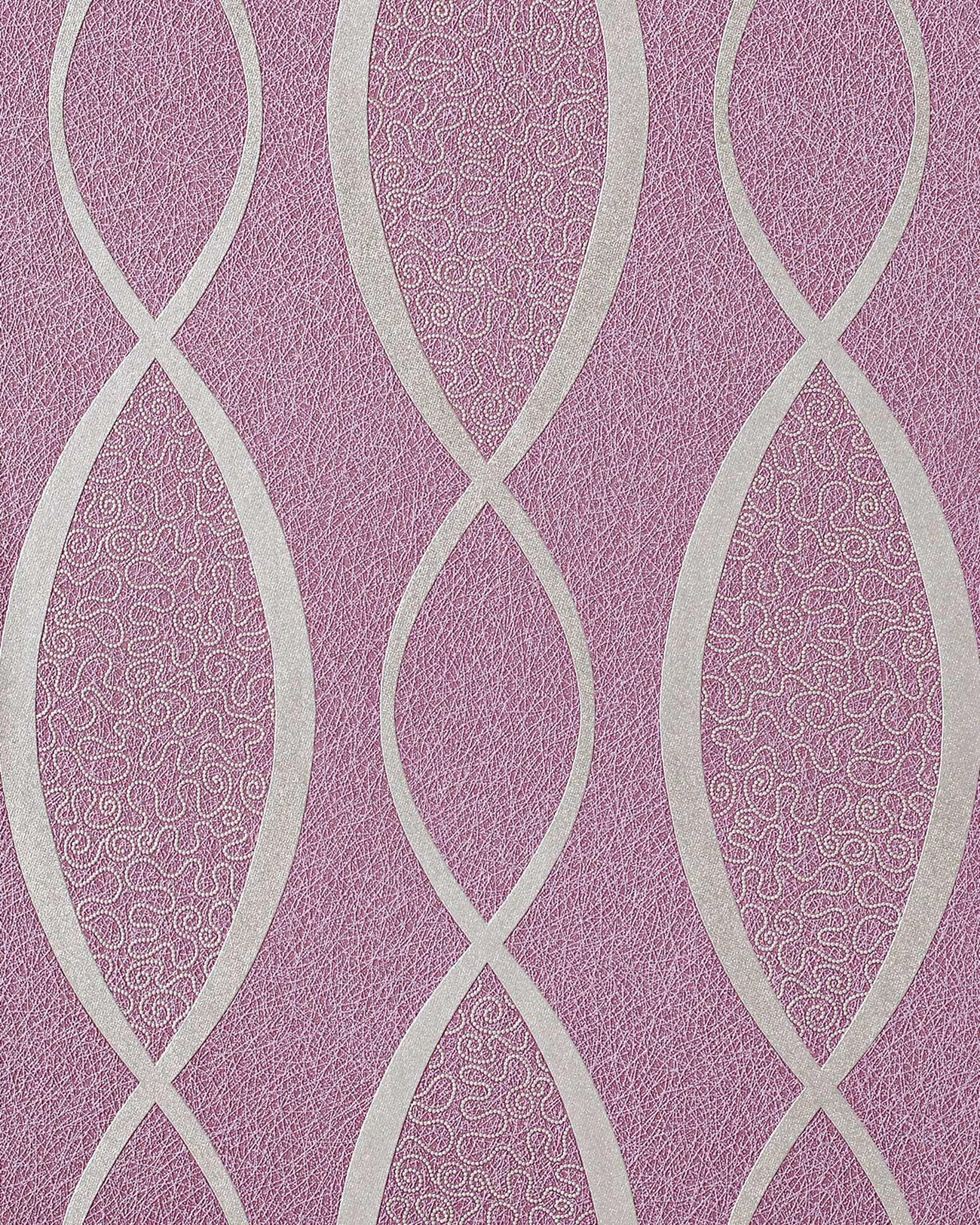 papier peint style ann es 70 avec ornements edem 1018 14. Black Bedroom Furniture Sets. Home Design Ideas