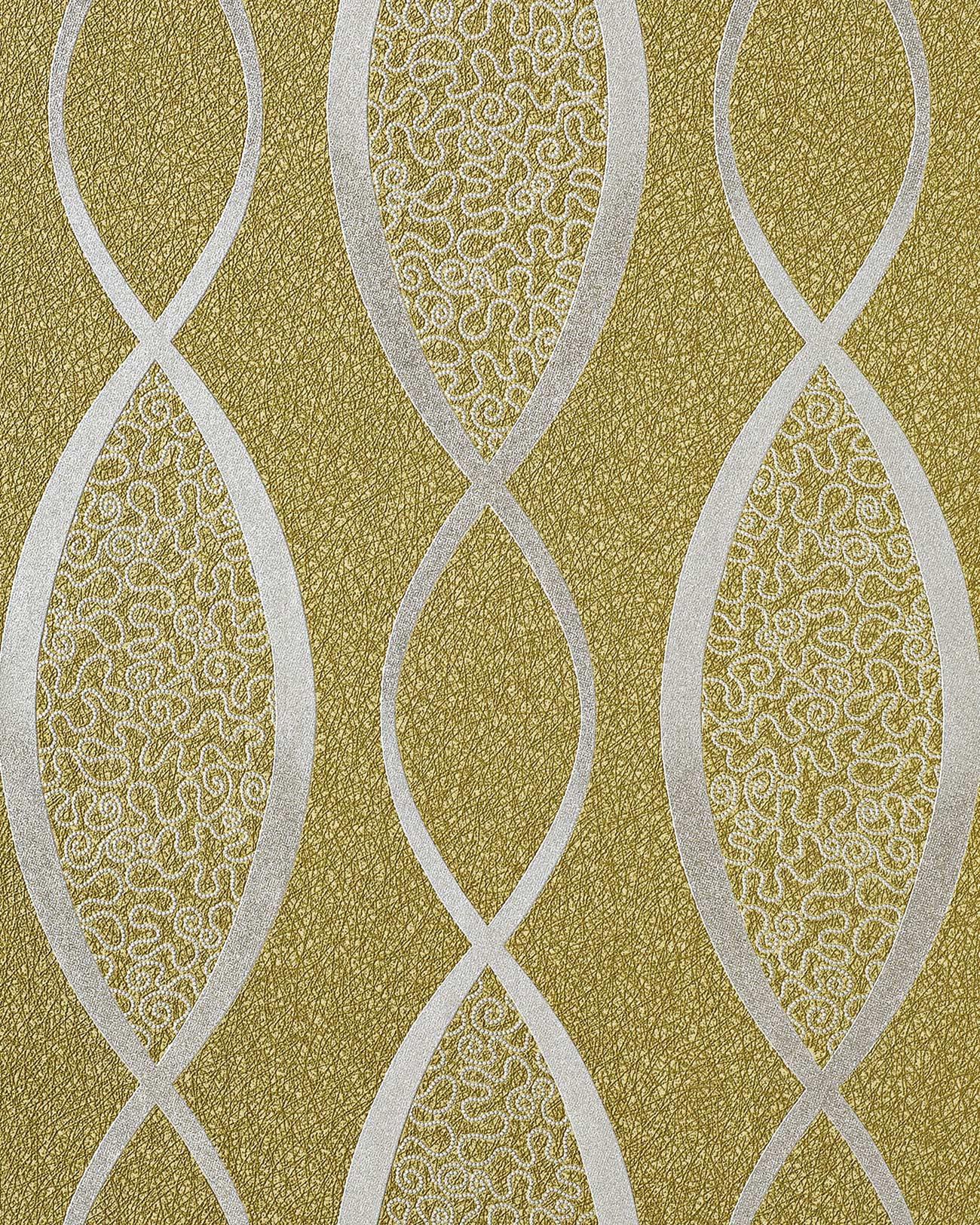Papier peint style ann es 70 avec ornements edem 1018 15 scintillants design - Papier peint style annee 70 ...
