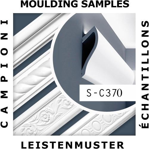 1 CAMPIONE S-C370 Orac Decor Ulf Moritz | CAMPIONE di modanatura Cornice soffitto parete Lunghezza circa 10 cm – Bild 2