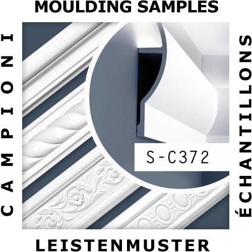 MUSTER Stuck-Profil Musterstück C372 – Bild 2