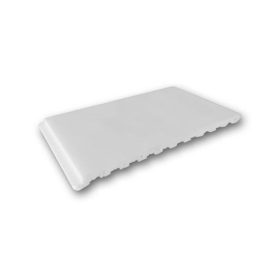 1 MUSTERSTÜCK S-PX147 Orac Decor AXXENT | MUSTER Wandleiste Stuckleiste ca. 10 cm lang – Bild 1