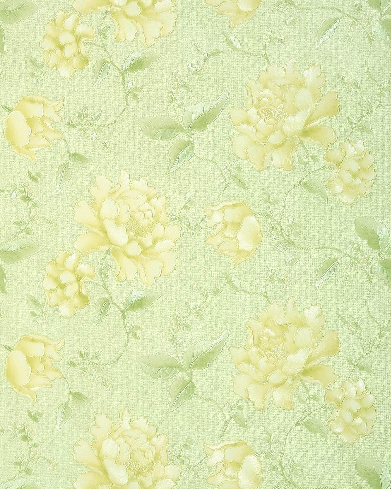 Carta da parati a fiori edem 748 38 rivestimento murale for Carta da parati 3d fiori