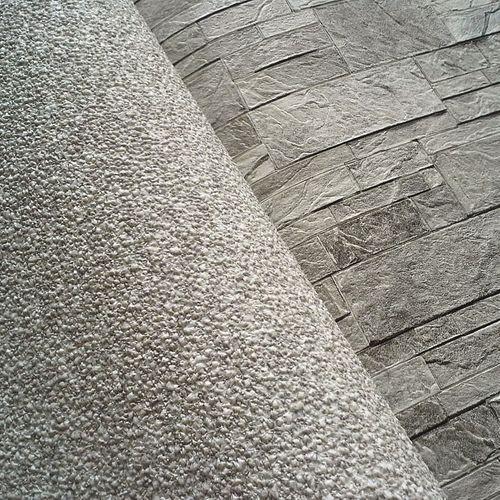 Papel pintado no tejido XXL EDEM 998-34 con relieve aspecto granulado granitos gris claro blanco 10,65 m2 – Imagen 2