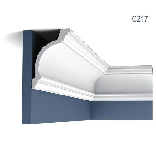 Stuckleiste Orac Decor C217 LUXXUS Zierleiste Eckleiste Dekorprofil Stuckprofil Decken Wand Leiste klassisch | 2 Meter