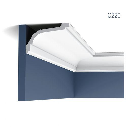 Cornici Soffitto e Parete aspetto stucco decorativo Cornicione Orac Decor C220 LUXXUS