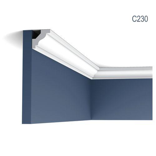 Stuckleiste Orac Decor C230 LUXXUS Eckleiste Zierleiste Decken Stuckgesims Wand Dekor Profil Dekorleiste | 2 Meter – Bild 1