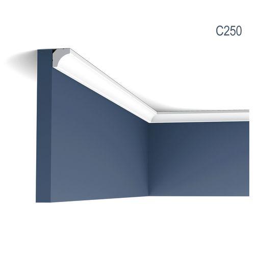 Eckleiste Orac Decor C250 LUXXUS Stuckleiste Zierleiste Decken Stuckgesims Wand Dekor Profil Dekorleiste | 2 Meter – Bild 1