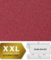 Carta da parati di lusso a rilievo effetto stucco veneziano EDEM 925-39 in non tessuto rosso a brillantini oro 10,65 mq