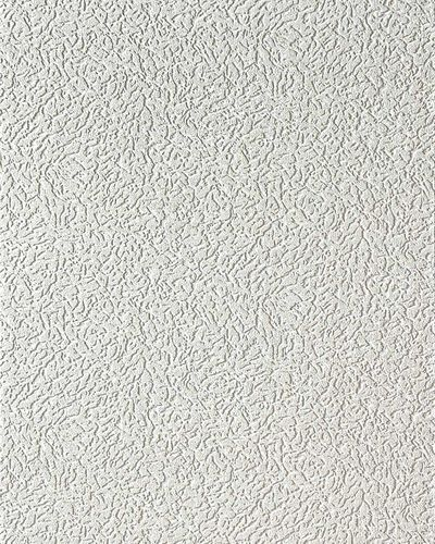 Vinyl wallcovering wallpaper wall white EDEM 202-40 15 meter deco textured stucco plaster blown  – Bild 1