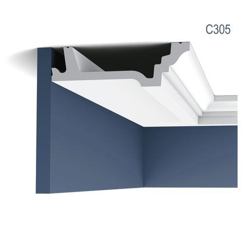 Eckleiste Orac Decor C305 LUXXUS Zierleiste Stuckleiste Dekorprofil Decken Wand Leiste Gesims Wand | 2 Meter